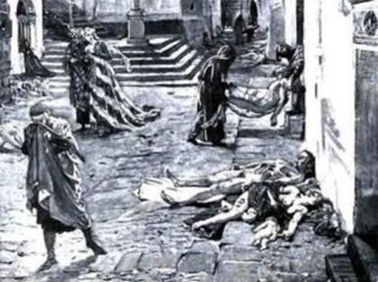 La peste de 1720 dans les Basses Alpes (Alpes de Hautes Provence).